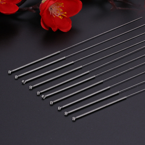 Image 4 - 100pcs Acupuncture Needle Disposable Sterile Chinese Acupuncture Needles Therapy Face Multi Size