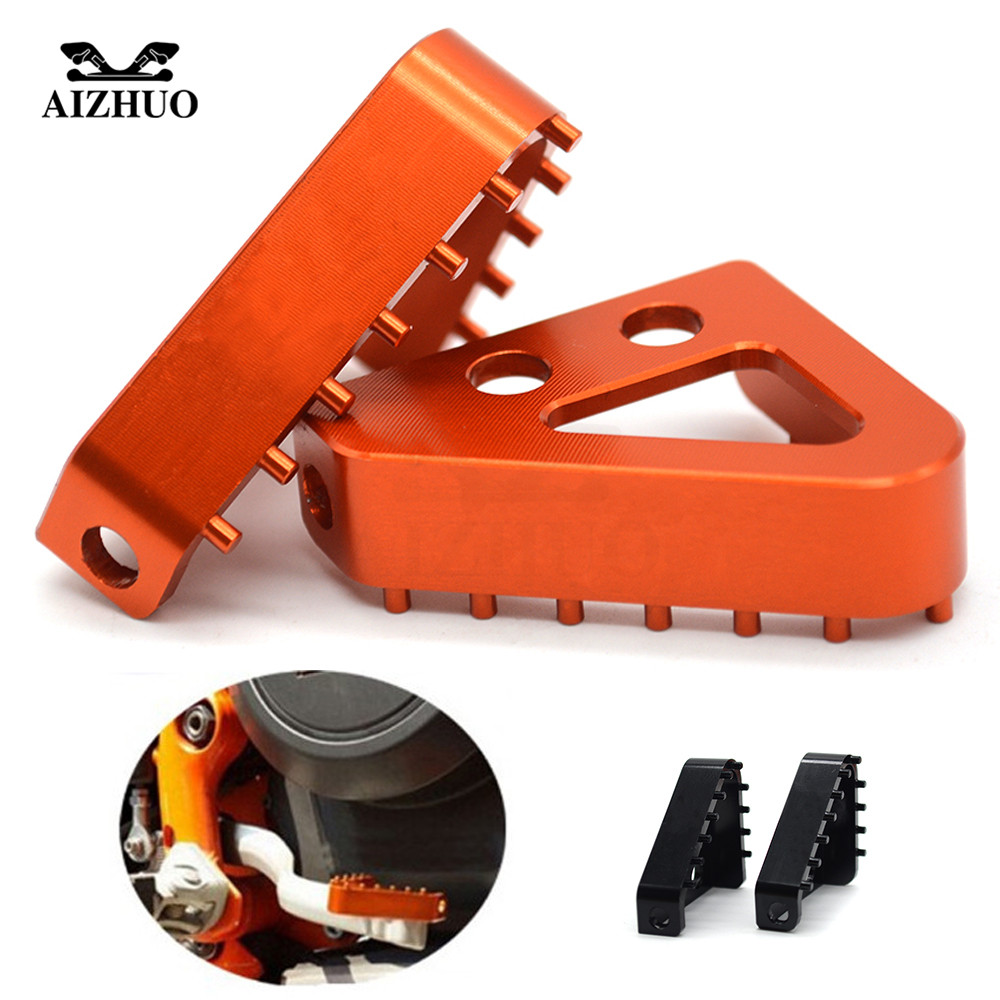 For KTM 1290 Super Adventure ADV 2015-2016 Motorcycle Accessories Rear Brake Pedal Lever Step Plate Enlarge