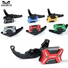 цена на Motorcycle CNC Aluminium Frame Slider Fairing Guard Anti Crash Pad Protector For Honda CBR600RR CBR 600RR CBR 600 RR 2007-2008