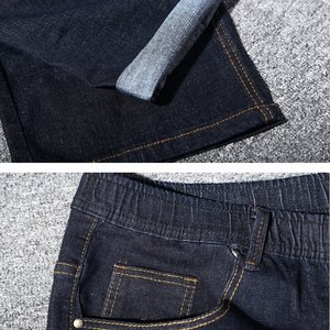 Image 5 - גדול גודל גדול גודל גברים של ג ינס 9XL 10XL 11XL 12XL מכנסיים סתיו מכנסיים למתוח ישר 50 54 56 58 ג ינס למתוח שחור גדול s