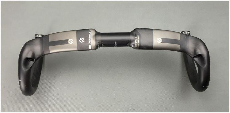 TOSEEK Carbon Matte UD Rennrad Rennrad Drop Bar Lenker 31,8mm-400/420 - Radfahren - Foto 4