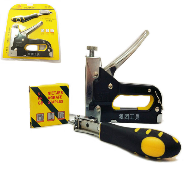 Staple Gun With Nail Puller Stapler For Wood FurnitureDoor \u0026 Upholstery With 900 nails  sc 1 st  AliExpress.com & Staple Gun With Nail Puller Stapler For Wood FurnitureDoor ...