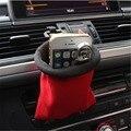 Suporte do telefone de ventilação de ar do carro organizador armazenamento organizador de bolso saco de armazenamento de detritos carro auto cigarro chaves moedas do bolso para iphone