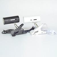 North Europe Style Modern Bedside Table Lamp Clip Desk Lamp Adjustable E27 110v 220v Light Industrial