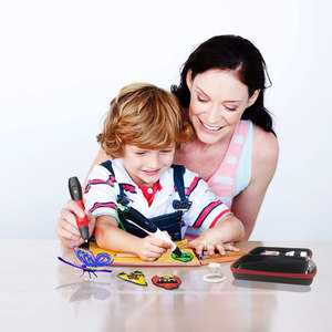 Image 3 - SMAFFOX 3D עט עם 12 צבעים 36 מטר PLA נימה הדפסת עט תמיכה ABS וpla ילדים Diy ציור עט עם LCD תצוגה