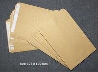 50 Pack Blank Light Brown Kraft Paper Self Sealing Envelope W Peel Press