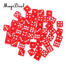 Dice Board-Game MTG Gifts RPG 12mm 50pcs Hot Magideal for Bar Club Pub-Ktv Entertainment