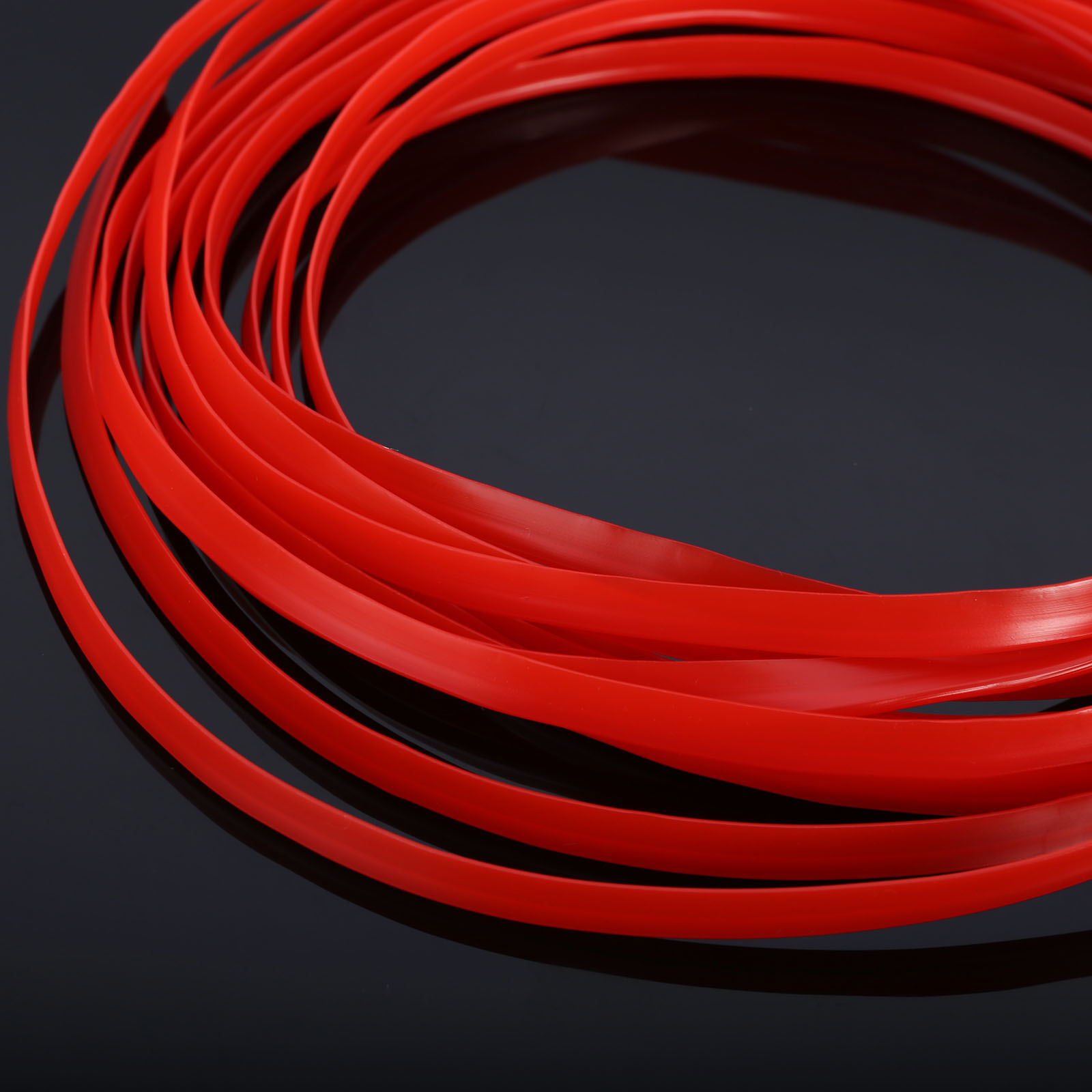 5m Car Styling Interior Matte Red Trim Strip Moulding Trim DIY Stickers Auto Decorative Strips Line Decoration michael michael kors легкое пальто