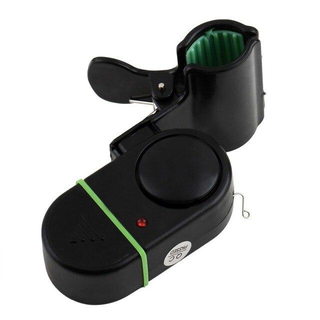 LED Light elektroniczna ryba Bite Strike sygnał dźwiękowy Bell Alert Clip On wędki polak łatwo zainstalować akcesoria wędkarskie