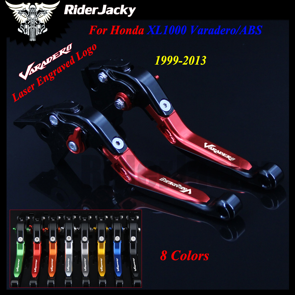 With Logo Red+Titanium Motorcycle Adjustable CNC Brake Clutch Lever For Honda XL1000 Varadero/ABS 1999-2013 2009 2010 2011 2012With Logo Red+Titanium Motorcycle Adjustable CNC Brake Clutch Lever For Honda XL1000 Varadero/ABS 1999-2013 2009 2010 2011 2012