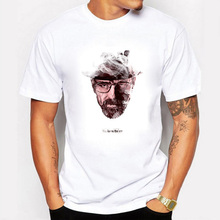Dreamlike Heisenberg T shirt Men Casual Funny Walter White Tshirt Swag Cotton Short Sleeve Summer Breaking Bad T-shirt