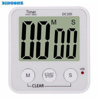 New Arrival Large LCD Display Digital Timer Kitchen Gadgets Cooking Tools Countdown Cooking Timer Count Down
