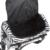 Cebra Bolso de lona portátil Pro Herramientas de Pelo de Peluquería Tijeras de Peluquero Peluquería Clips Hair Styling Herramientas Caja de Herramientas De Almacenamiento