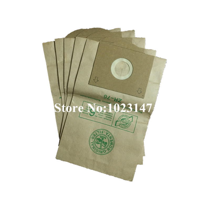 (5 pieces/lot) Vacuum Cleaner Dust  Bags Paper Bag for Rowenta ZR76 DeLonghi XTL 145E Hoover 1300s etc.! the walnut trees of altenburg paper only