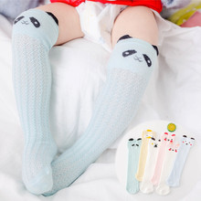 1 pack Cotton Girls Socks Long Baby Knee High Socks Cat Style Princess Kids Socks Girl Cute Baby Sock Baby Girl Clothes  30cm 1 pack cotton girls socks long baby knee high socks cat style princess kids socks girl cute baby sock baby girl clothes 30cm