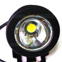 100pcs Black Cover LED Underwater Light Pool DC12V Fountain LED Light 10W led flood light underwater