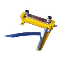 Manual sheet metal iron aluminum copper plate bending machine top quality
