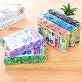 100 шт./упак. цветные большие мешки для мусора  бытовые кухонные пластиковые пакеты для мусора для дома