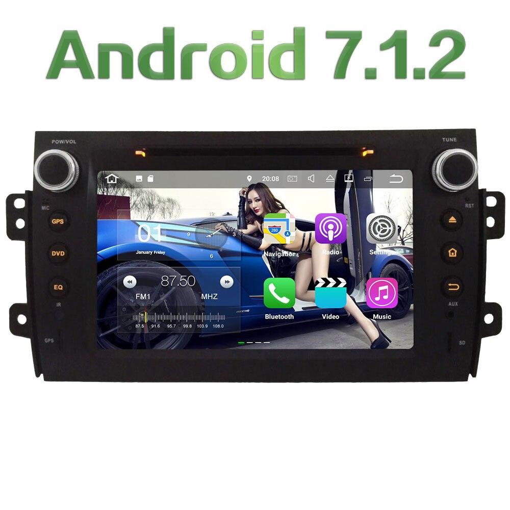 8 Android 7 1 2 2GB RAM 4G Wifi SWC DAB Car DVD Player Radio Stereo