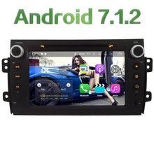 "8"" Android 7.1.2 2GB RAM 4G Wifi SWC DAB+ Car DVD Player Radio Stereo For Suzuki SX4 2006 2007 2008 2009 2010 2011 2012 2013"