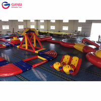 Water park equipment games customized giant inflatable water park with factory price
