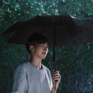 Image 4 - מקורי Xiaomi גשום מטרייה אוטומטית קיפול ופתיחה אלומיניום מטריית Windproof איש אישה עמיד למים עבור חורף קיץ