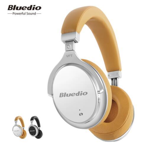 Bluedio F2 casque avec ANC bluetooth sans fil casque avec microphone de musique de soutien