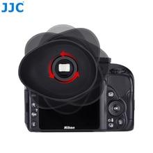 JJC Eyecup Eg Soft Silicone Rubber Eye Cup Glasses User Eyepiece For Canon 5D Mark IV/5D Mark III/EOS-1D X Mark II/7D Mark II