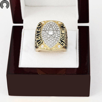 Factory Sales Wooden Boxes Replica Copper High 1992 Dallas Cowboys Championship Ring For Collections Free Shipping