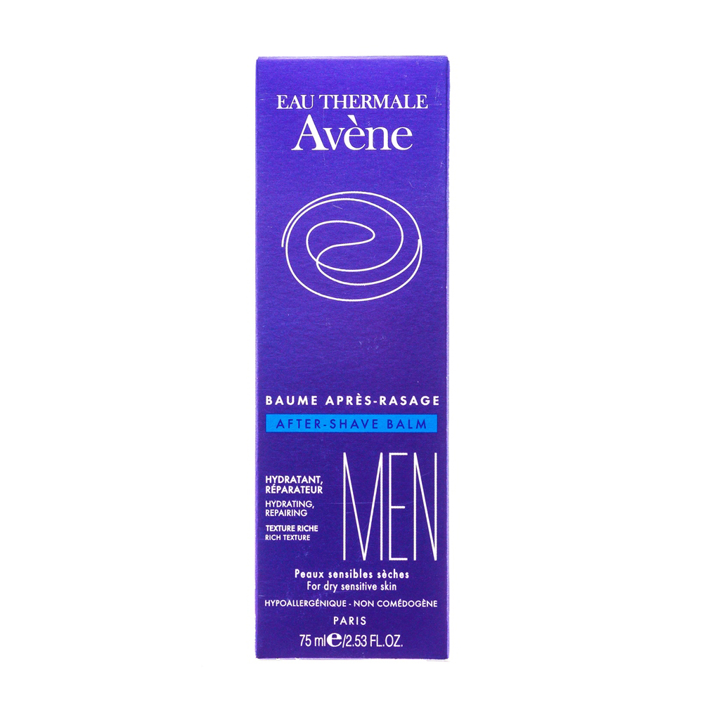Aftershave AVENE C00388 Vehicle after shaving soothing skin moisturizes and softens the