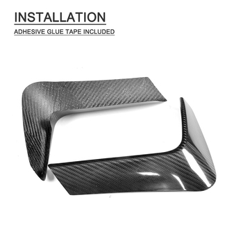Carbon Fiber Rear Bumper Diffuser Lip Splitters Lower Corner Spoiler Covers For BMW F80 M3 F82 F83 M4 4 Door 2 Door 2014 - 2019