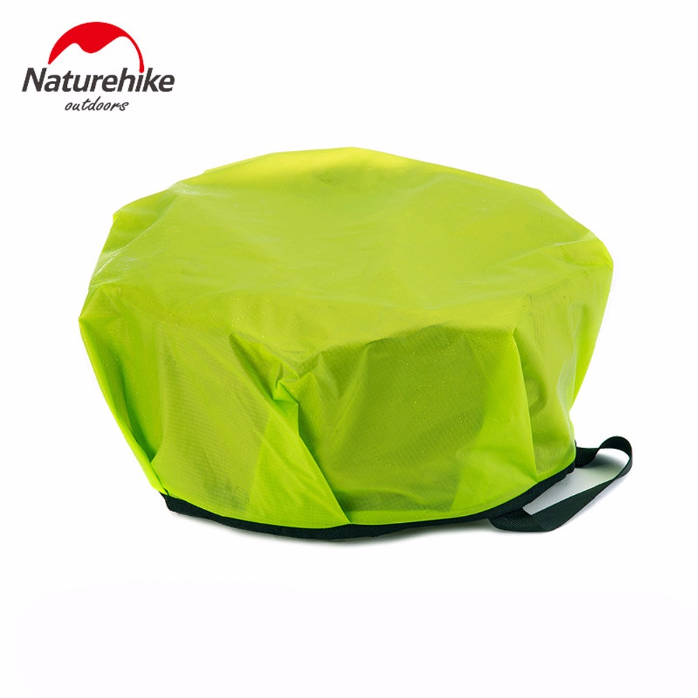 Image 4 - NatureHike Outdoor EDC Portable 10L Foldable Water Washbasin Ultralight Camping Basin Survival Water Bucket Foot Bath 3 Colors-in Water Bags from Sports & Entertainment