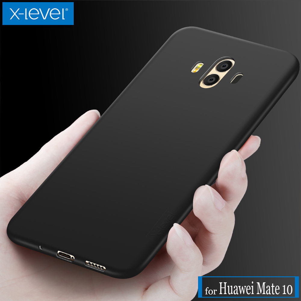 Huawei Mate 10 Case X-Level Guardian Ultra Thin Matte Soft Silicone Full Covered TPU Phone Protective Cover for Huawei Mate 10