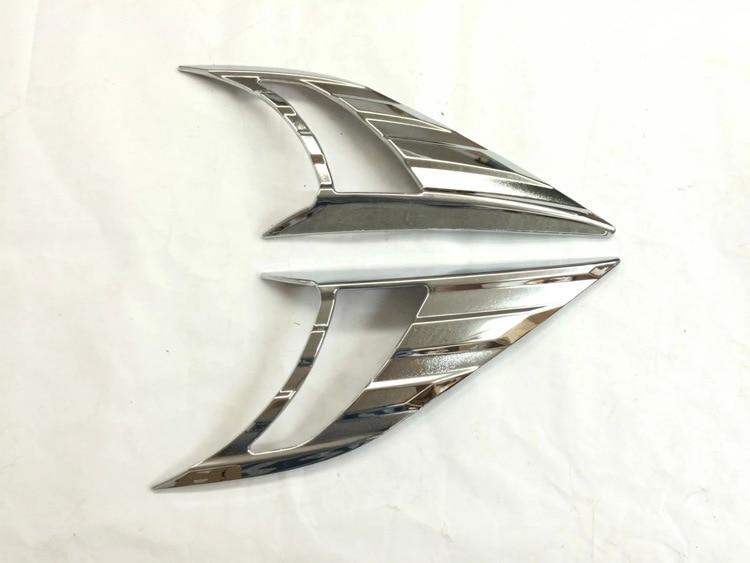ABS Chromová přední světelná lampa obočí pro Nissan Qashqai - Exteriérové autodoplňky