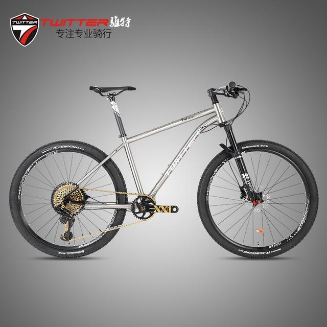 Twitter WERNER (S thro-axle)-12 s Mtb горный велосипед Avionics титановая рама 12 Скоростей DT колесная вилка XC велосипед