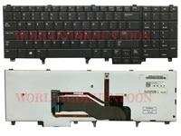 Genuine New US Version Black With Backlit For DELL Latitude E5530 E6530 M4600 M6600 M2800 Keyboard