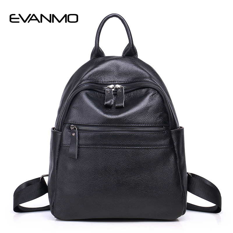 Brand 2017 Soft Skin High Quality Genuine Leather Backpack Women Designer School Bags for Teenagers Girls Luxury Women Backpacks genuine leather backpack women designer bags high quality new rivet casual black school bags for teenagers grils sac a dos