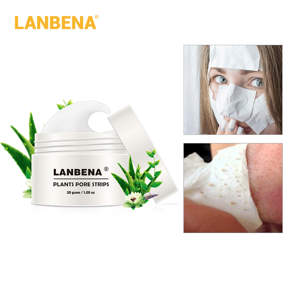 New Style Lanbena Blackhead Remover Nose Mask Pore Strip Black Mask Peeling Acne Treatment Black Deep Cleansing Skin Care #2