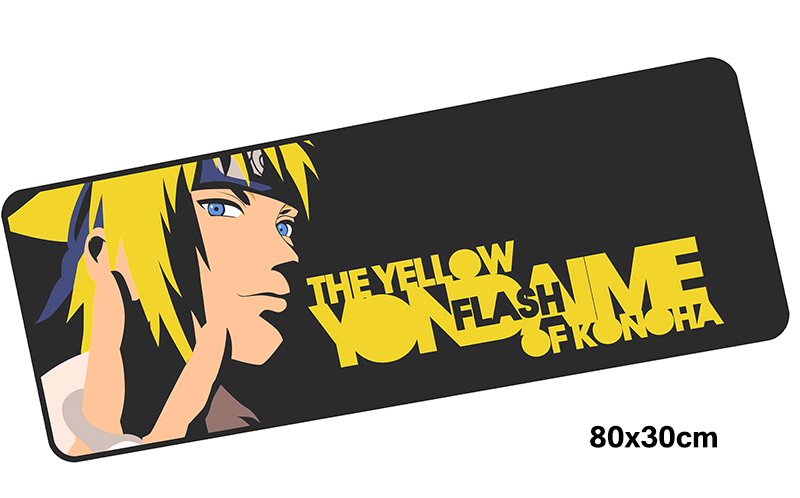 Naruto mousepad gamer 800x300X3MM gaming mouse pad large High-end notebook pc accessories laptop padmouse ergonomic mat