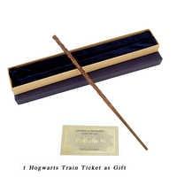Cosplay Metall/Eisen Core Hermine Granger Zauberstab mit Geschenk Box Pack