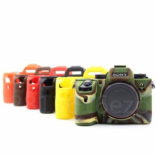 Soft Silicone Rubber Camera Protective Body Case Cover For Sony A7 III A7RIII A7III A7M3 A7R3