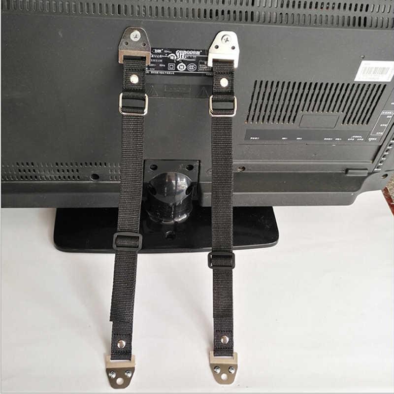 Chất Lượng Tốt An Toàn Cho Bé Lock 2 Cái/lốc An Toàn Cho Bé Chống Đầu Dây Dẹt Cho Truyền Hình Và Đồ Nội Thất Tường Dây Đeo khóa Trẻ Em Bảo Vệ