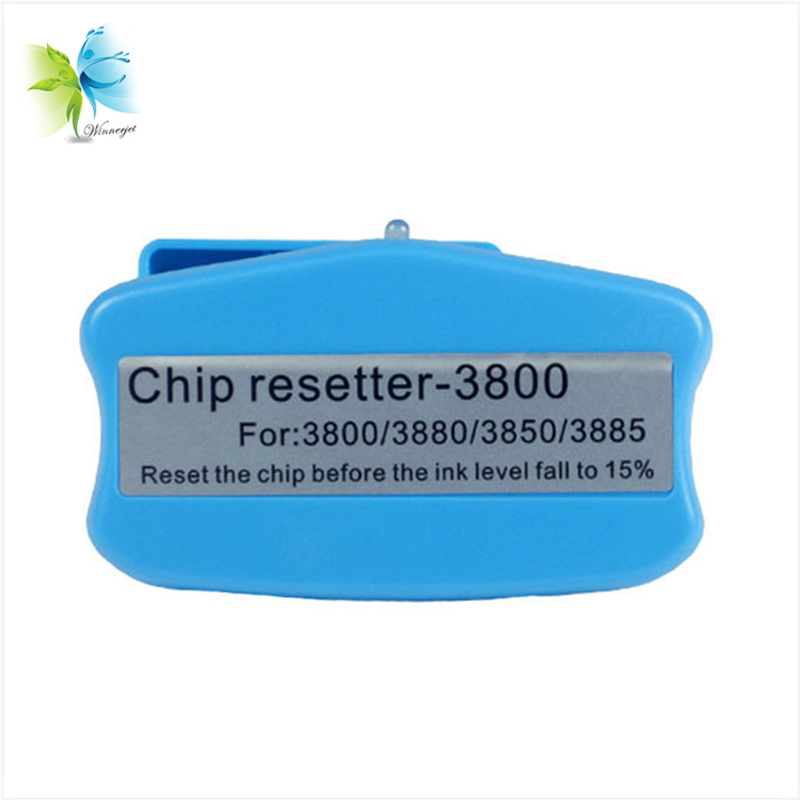 T5801 T5809 T5891 T5898 T5811 T5819 Ink Cartridge Chip Resetter For Epson Stylus Pro 3800 3800C 3850 3880 3890 3885 in Printer Parts from Computer Office