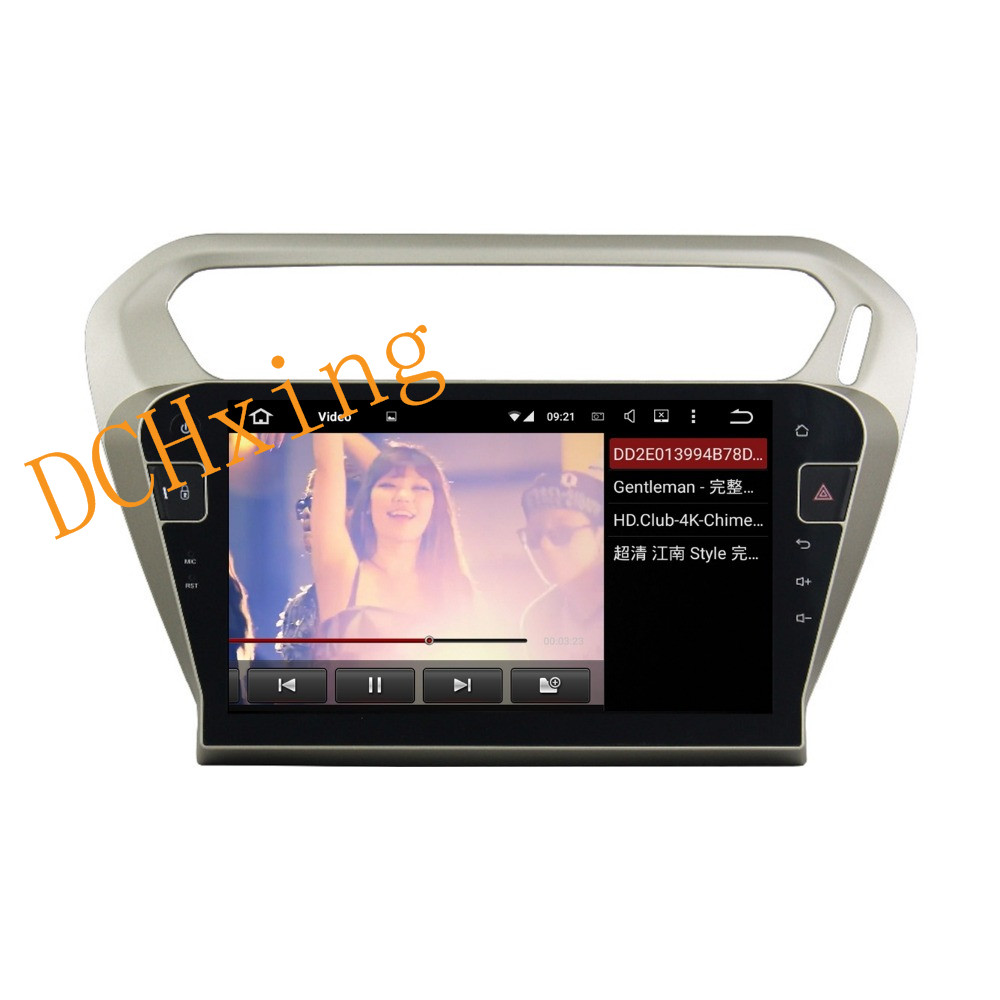 """Cheap 10.1"""" Octa Core Android 9.0 8 core 64G ROM 4G RAM Car DVD Player for Peugeot PG 301 2013-2016 Citroen Elysee GPS Radio 4"""