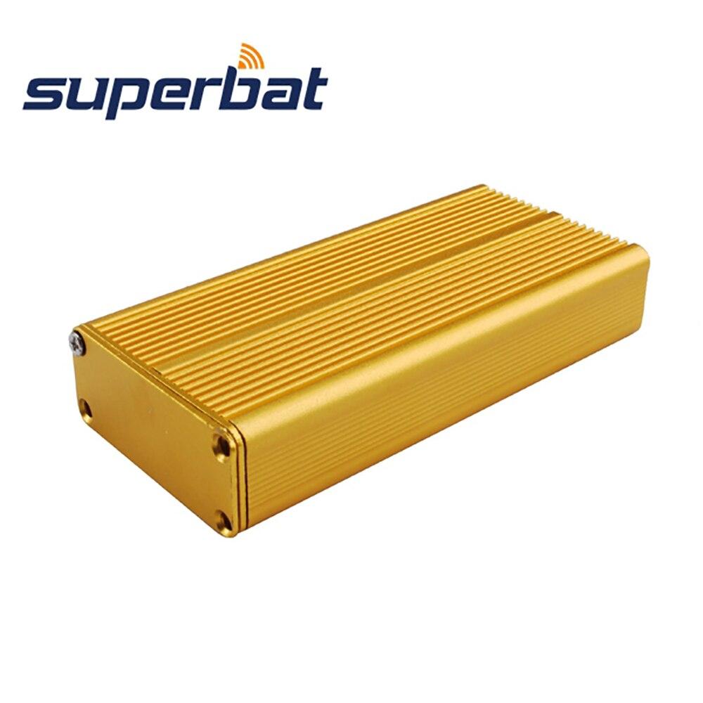 NEW Golden Yellow Aluminum Project Box Enclosure 0.73″*1.77″*4.33″ Case Electronic Instrument Amplifier PCB DIY 18.5x45x110mm