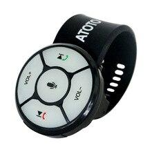 Беспроводной рулевое колесо Управление пульт дистанционного управления с Подсветка пуговицы AC-44F4-только для нового выпущен ATOTO A6 серии