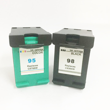 Vilaxh Ink Cartridge Compatible For HP 98 95 4PCS Officejet K7100 K7103 K7108 H470 H470b H470wbt H470wf 100 L411a L411b
