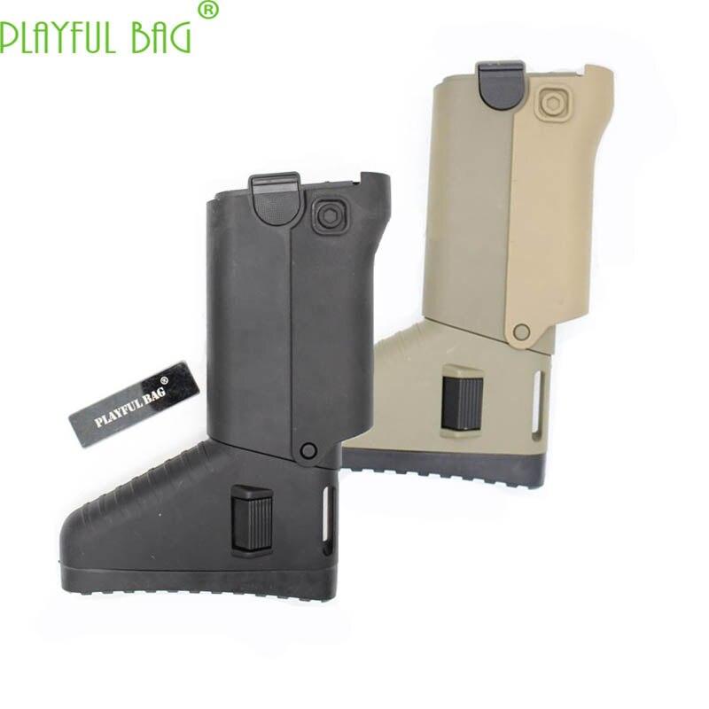 Novelty Playful Bag Tactics DIY CS Competitive Equipment Accessories Jinming Scar V2 Modified Rear Butt Stcok Gel Ball Gun KD33