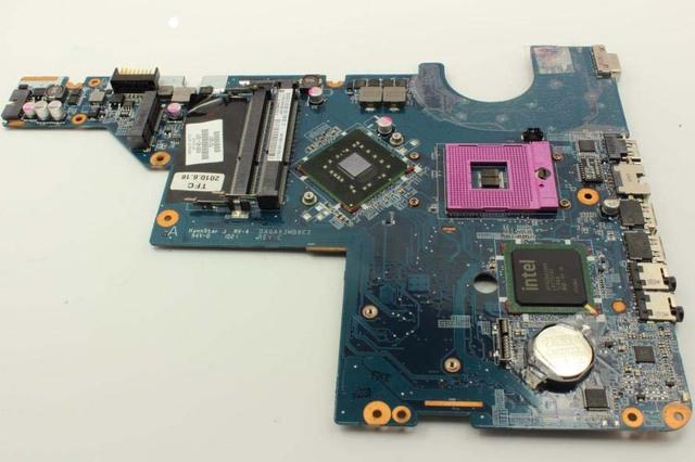 Frete grátis 100% original novo 605140-001 para hp g42 g62 cq42 cq62 laptop motherboard da0ax3mb6c1 100% totalmente testado ok