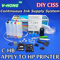 4 Color CISS kit  (with accessaries)  CISS ink tank  aply to  hp21/22 hp60 hp61 hp74/75 hp122 hp130 hp301 hp300